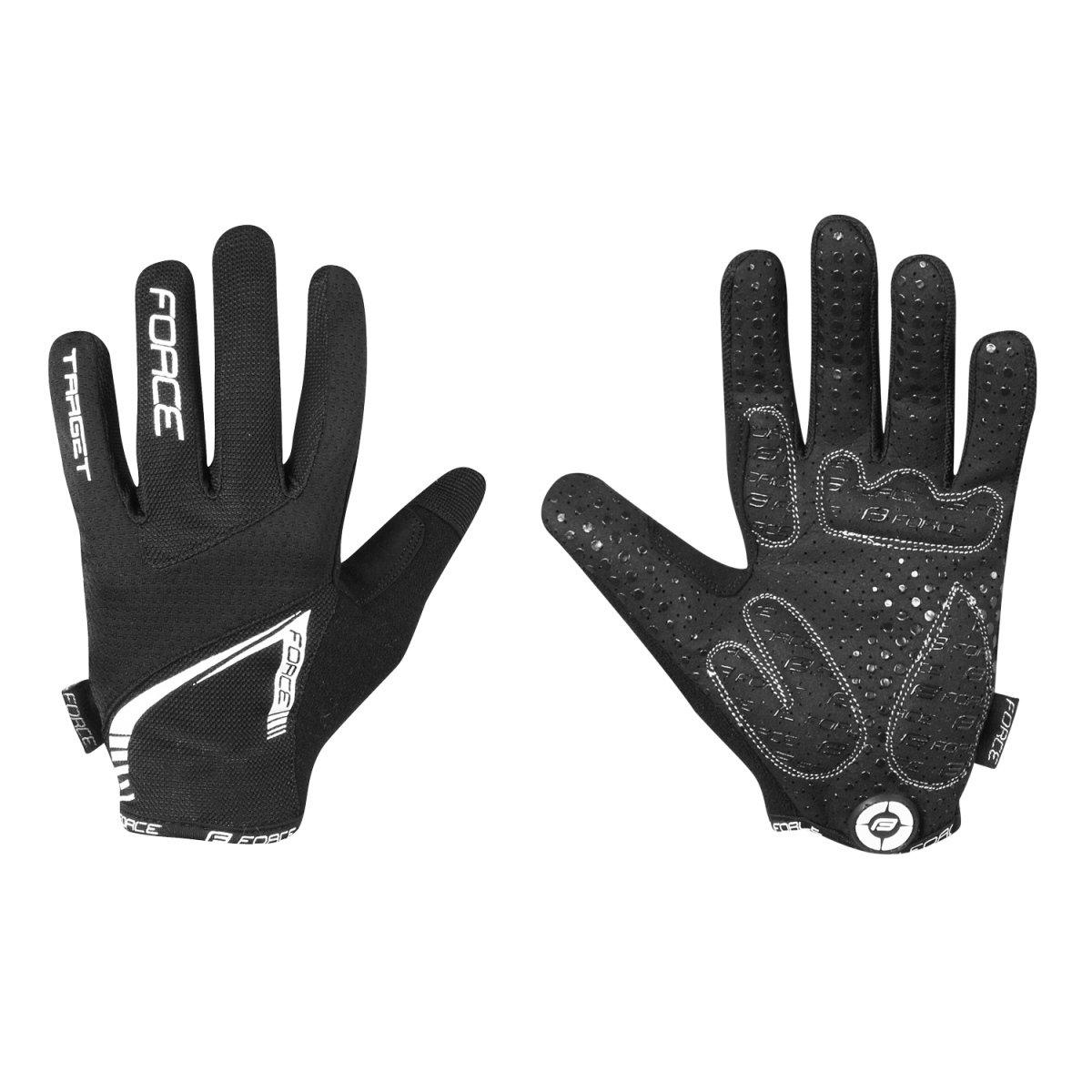 Force MTB Target handske med lange fingre | Handsker