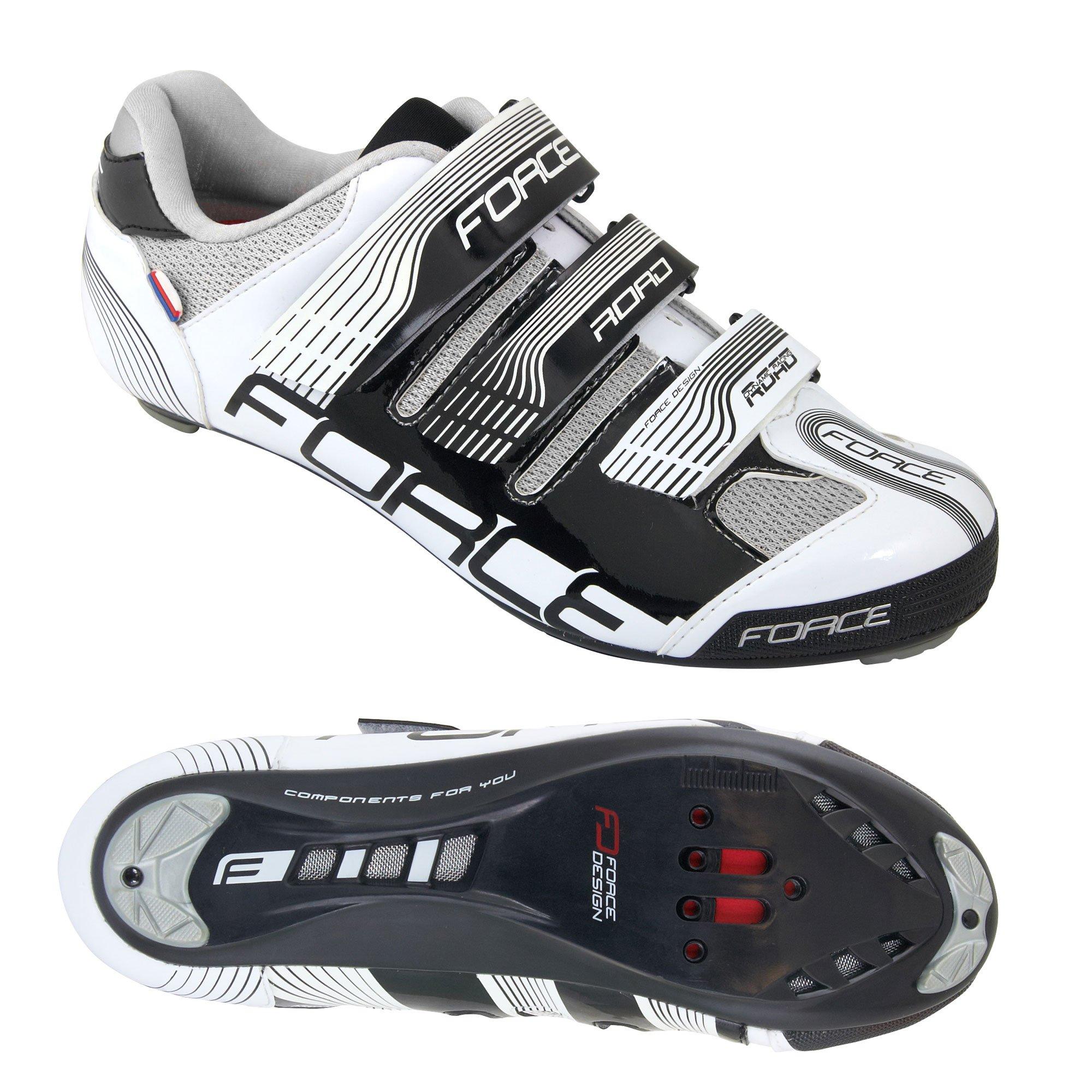 Force Road racer sko sort/hvid | Sko