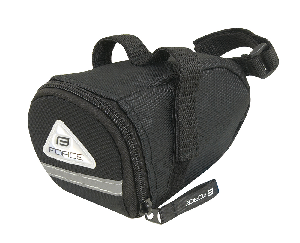 Force Eco sadeltaske sort | Saddle bags