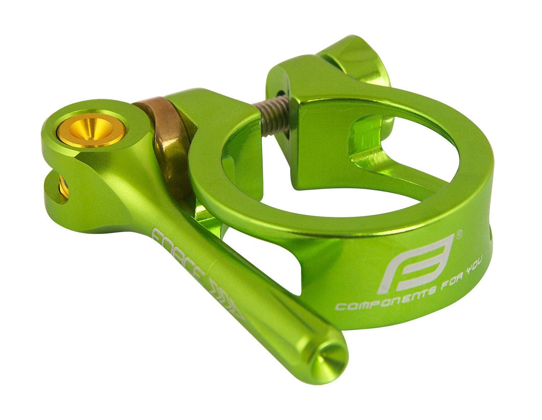 Force sadelrørs klampe med quick release grøn | Pedal cleats