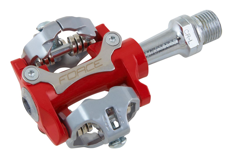 Force MTB pedaler røde SPD | Pedaler