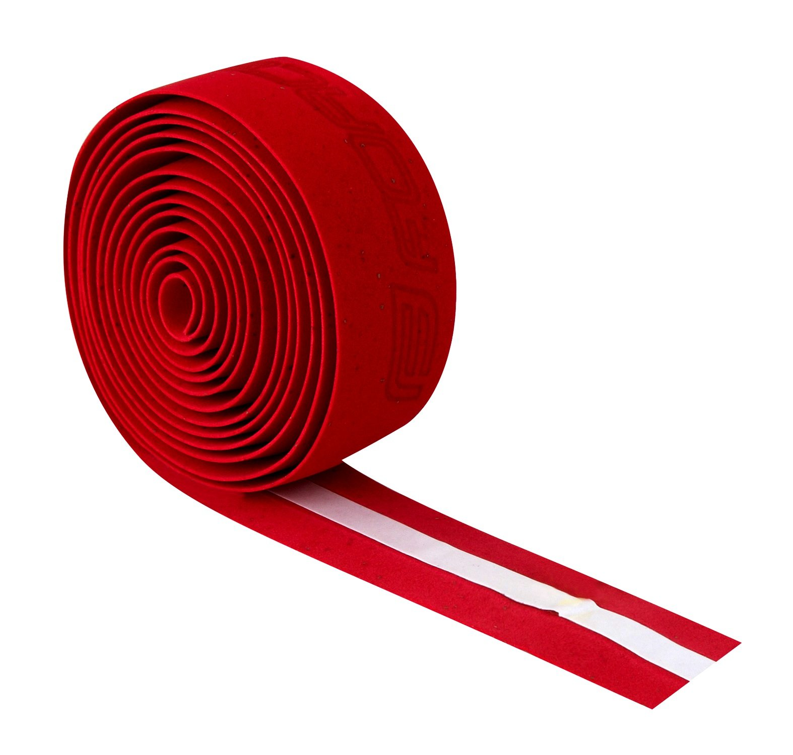 Force rød kork styrbånd logo   Bar tape