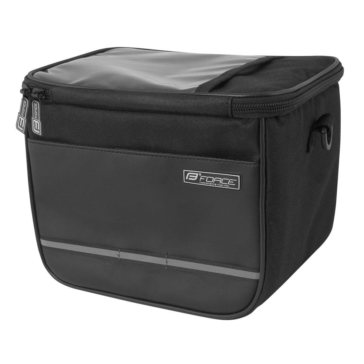 Force Cube styrtaske sort - 169,00 | Handlebar bags