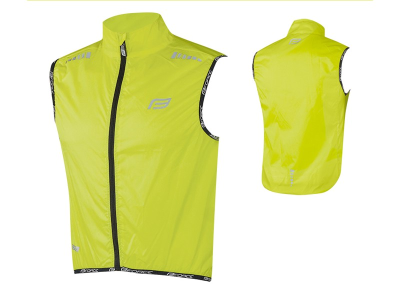 Force vindvest neon