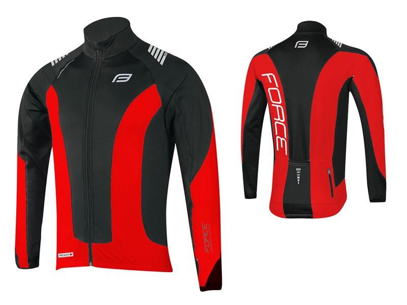 Force langærmet trøje sort/rød | Jerseys