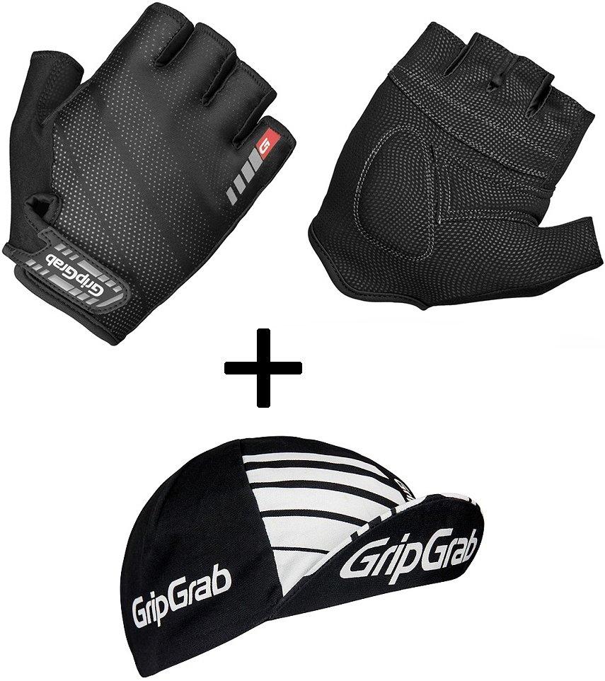 GripGrab Sampak med Rouleur Handsker og Kasket