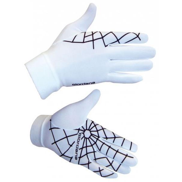 Giordana spiderweb handsker hvid