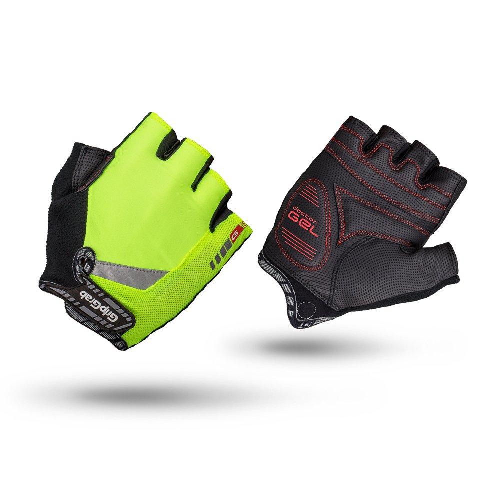GripGrab Progel cykelhandsker Hi-Vis Gul | Handsker