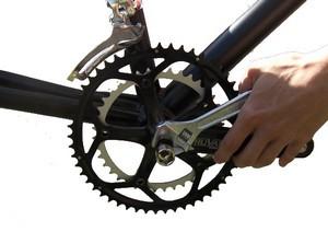 Pedalarmesaftrækker cykel