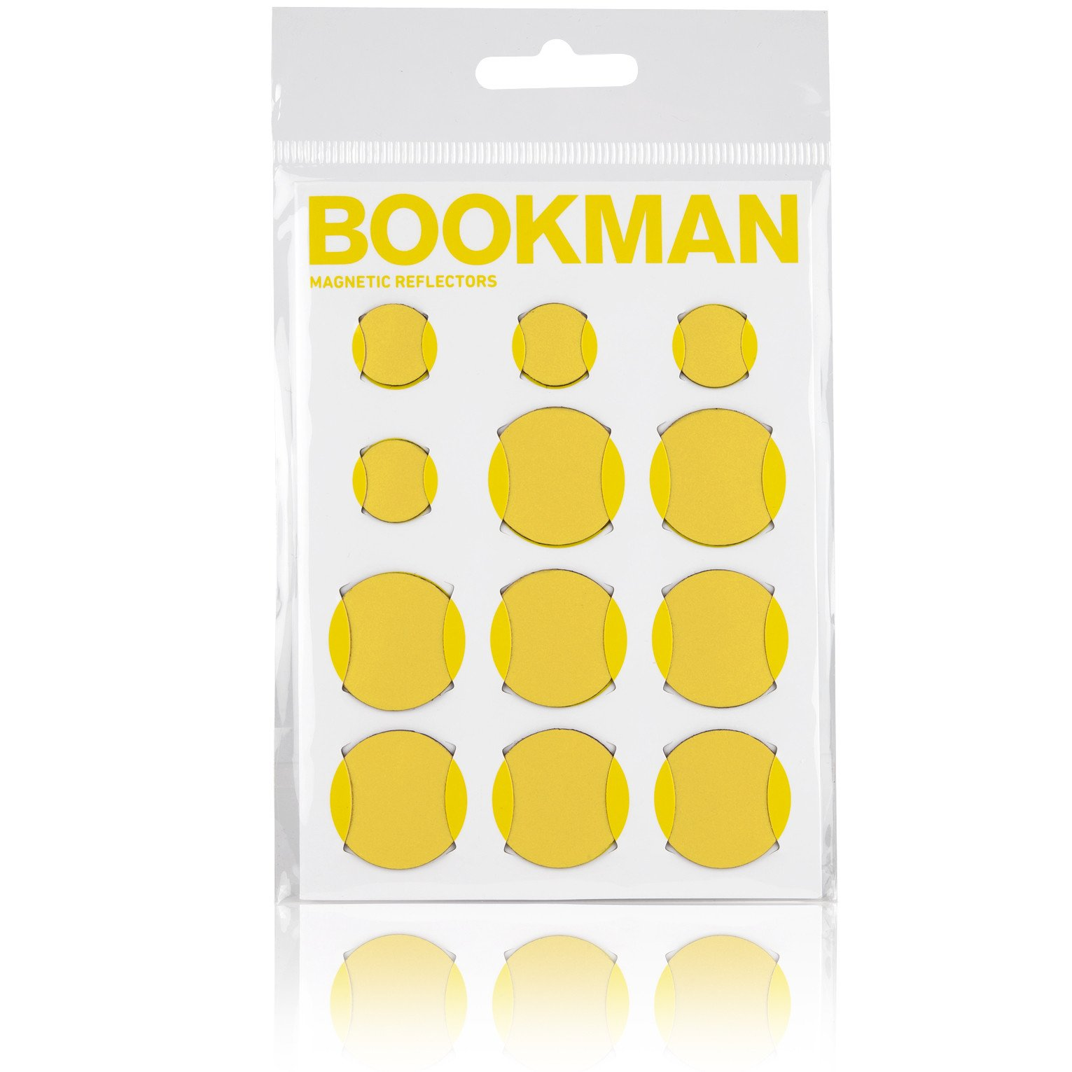 Bookman Magnetiske reflekser gul | Reflekser