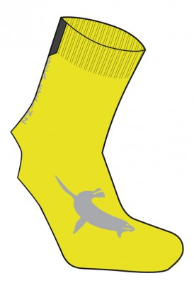 SealSkinz Sleeve Socks Gul | Strømper