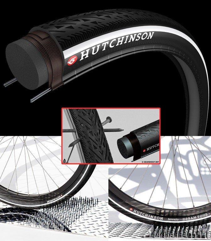 Fantastisk Hutchinson Serenity punkterfri dæksæt 700x35c (2 x dæk + 2 x IN19