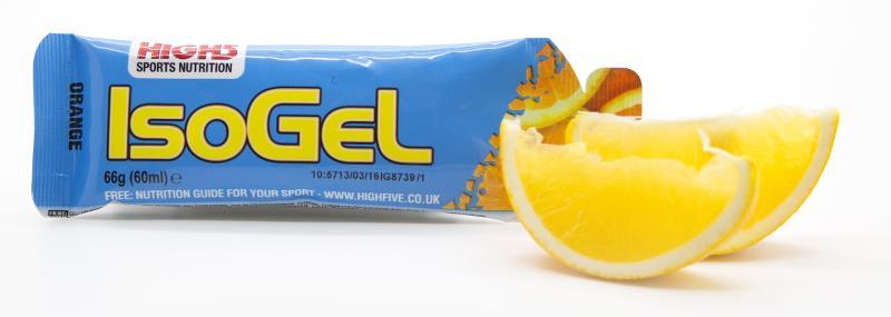 High5 IsoGel Orange 60 ml | Energy gels