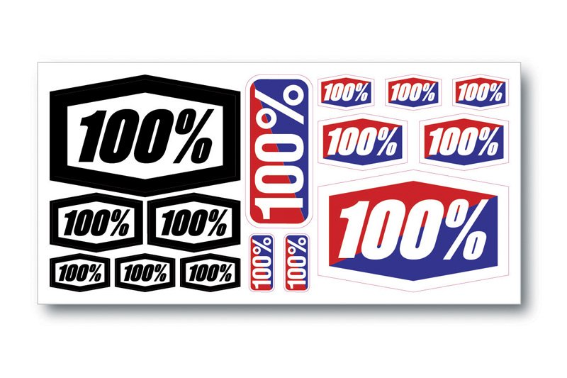 100% klistermærker 8