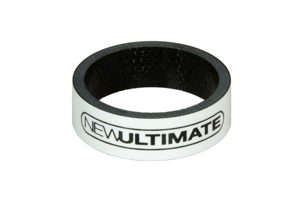 New Ultimate Carbon spacer hvid 10 mm