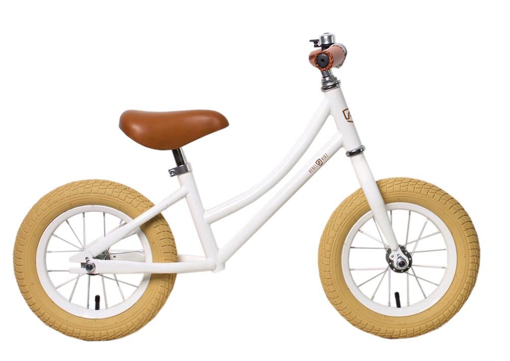 Rebel Kidz Air Classic løbecykel hvid | Løbecykel