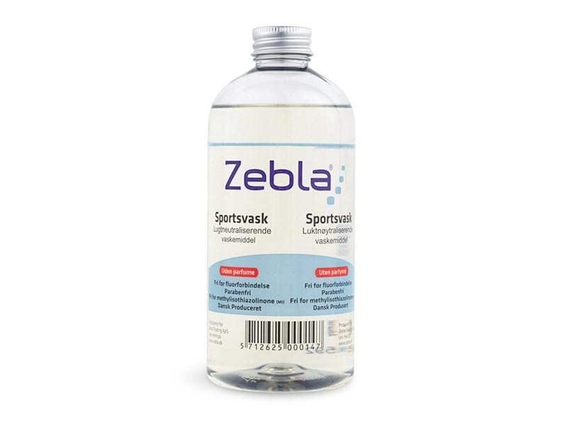 Zebla sportsvask 500 ml uden parfume | Personlig pleje