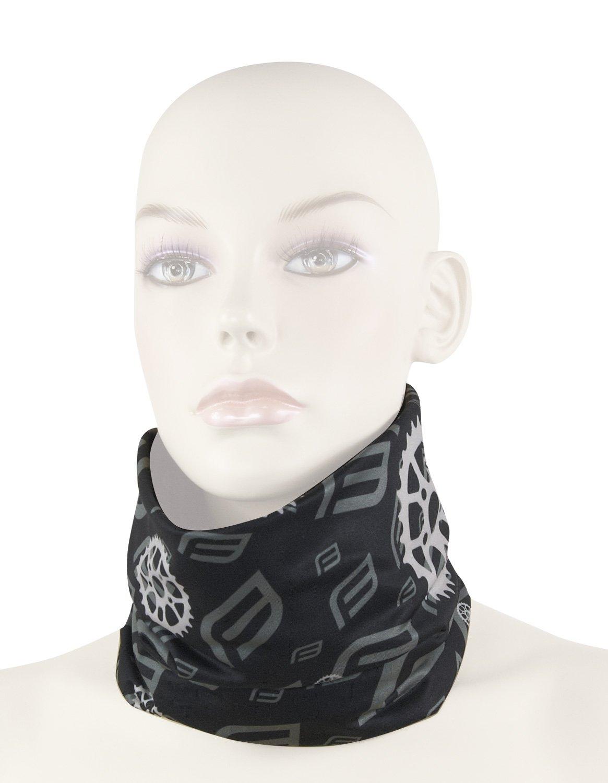 Force Multifunktions tørklæde forår/efterår sort | Hovedbeklædning