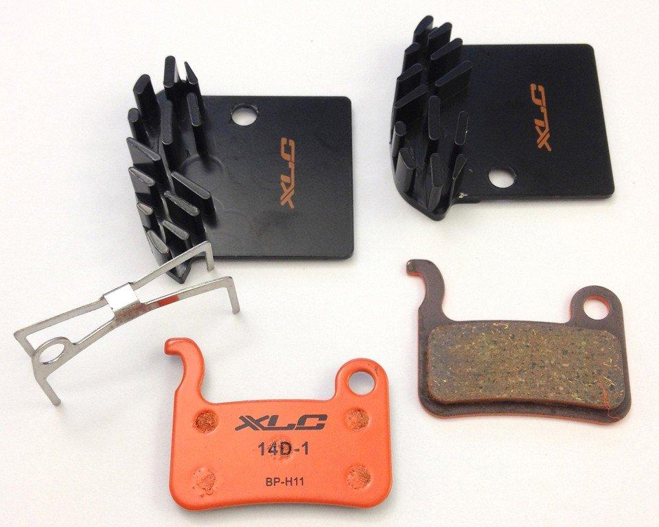 XLC bremsekodser til Shimano XTR, XT og Saint med køl | Bremseskiver og -klodser