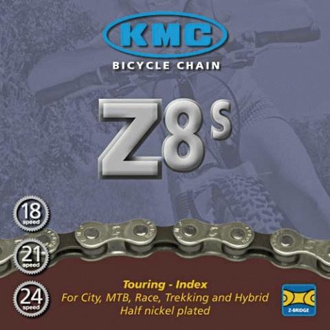 Kæde 6-7-8 speed KMC Z8S | Kæder