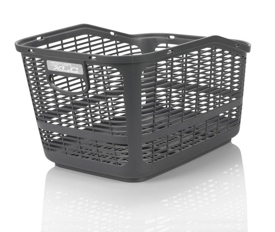 XLC Bagagebærer kurv lavet i slidstærk plastik | Bike baskets