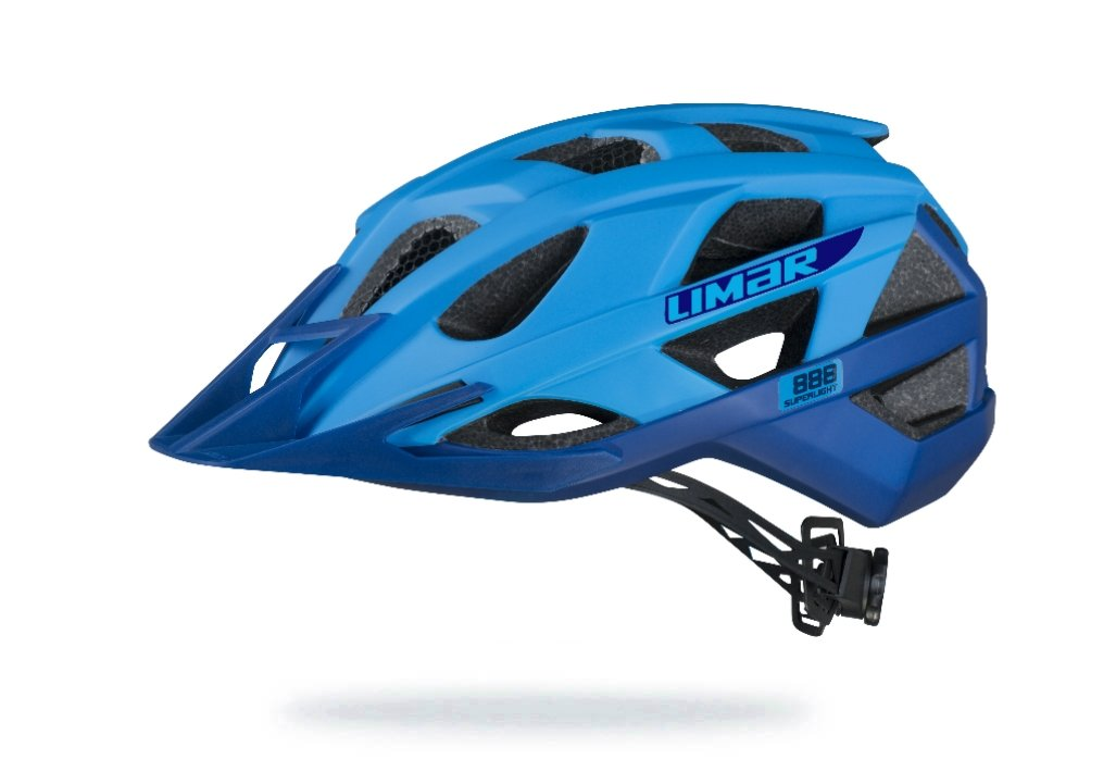 Limar 888 mat blå MTB hjelm