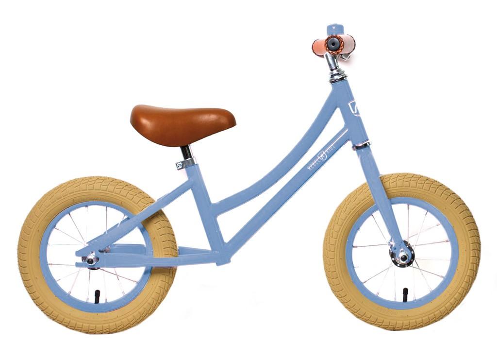 Rebel Kidz Air Classic løbecykel lys blå / pastel blå | Learner Bikes