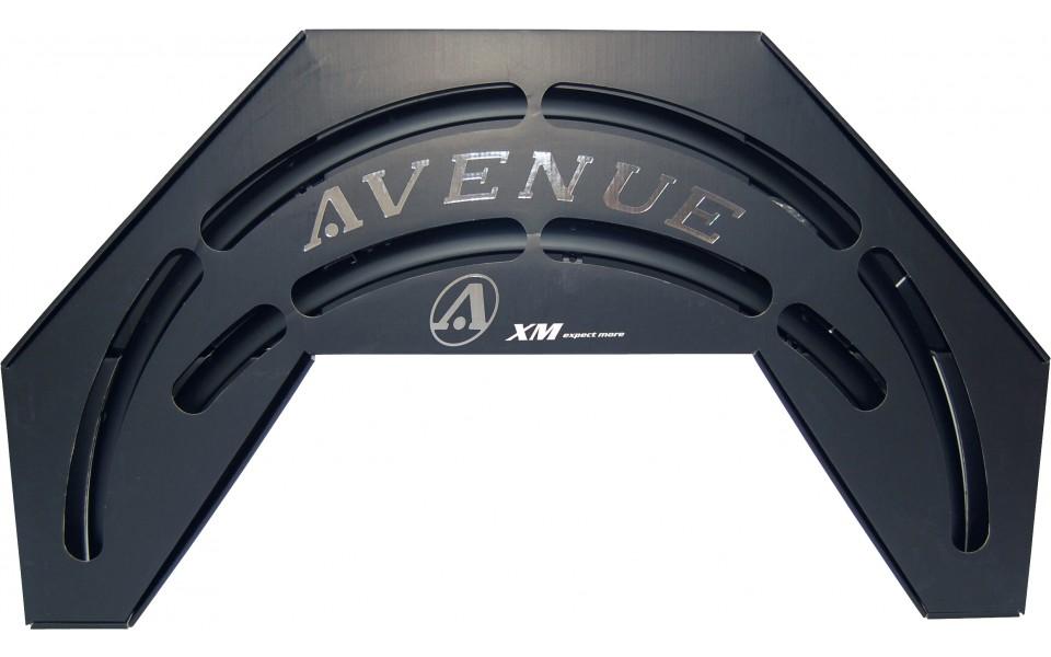 Avenue skærmsæt Mat Sort (Dino Black Rubber) 35 mm | Mudguards Set
