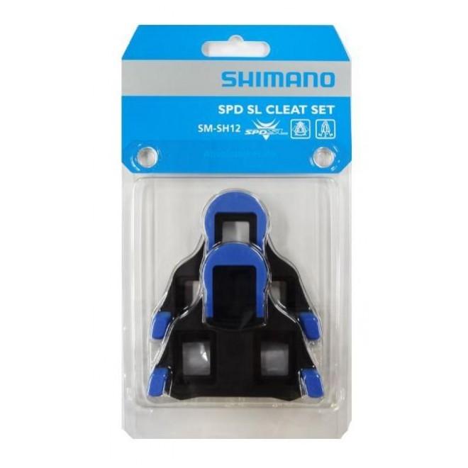 Shimano SPD-SL klamper blå | Klamper