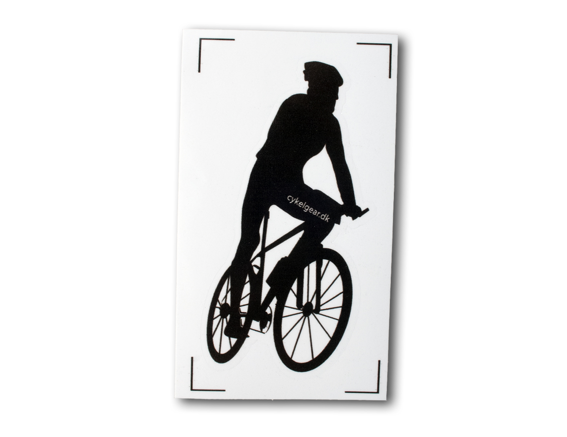 Mountainbike klistermærke til bilen | Misc. Multimedia