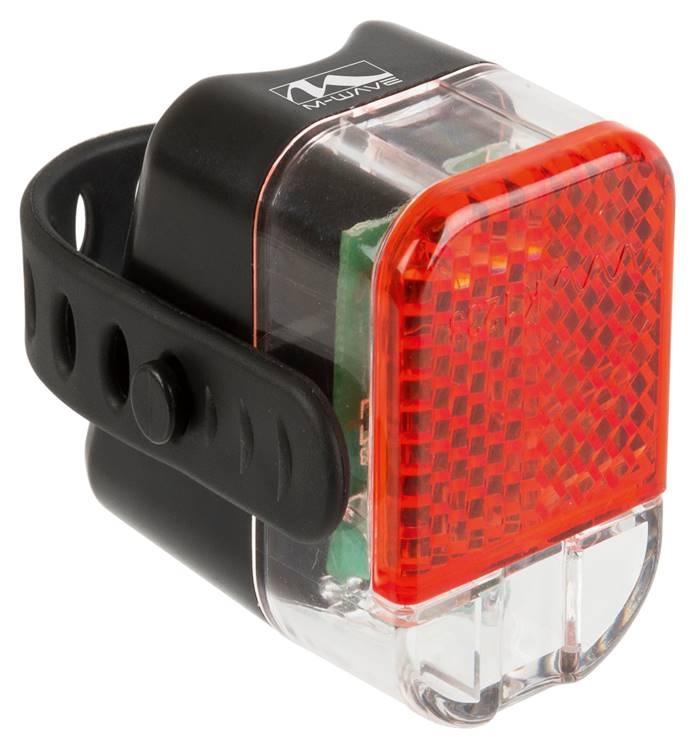 M-Wave baglygte til sadelpind   Rear lights