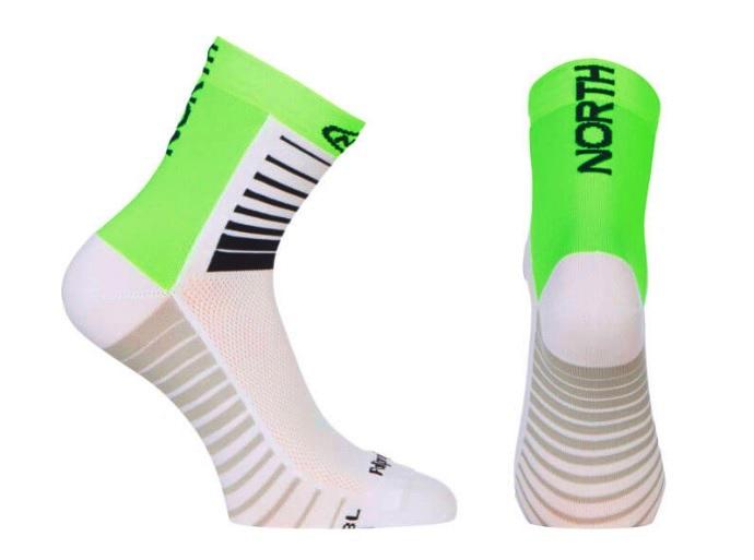 Northwave Sonic sokker Grøn/hvid | Strømper