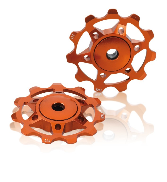 XLC Pulleyhjul Orange | Pulleyhjul