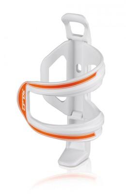 XLC Sidecage flaskeholder hvid/orange | Bottle cages