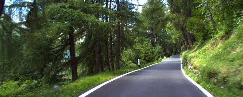 Route til Tacx Hometrainer - Passo del Gavia (Italien)   Hometrainer