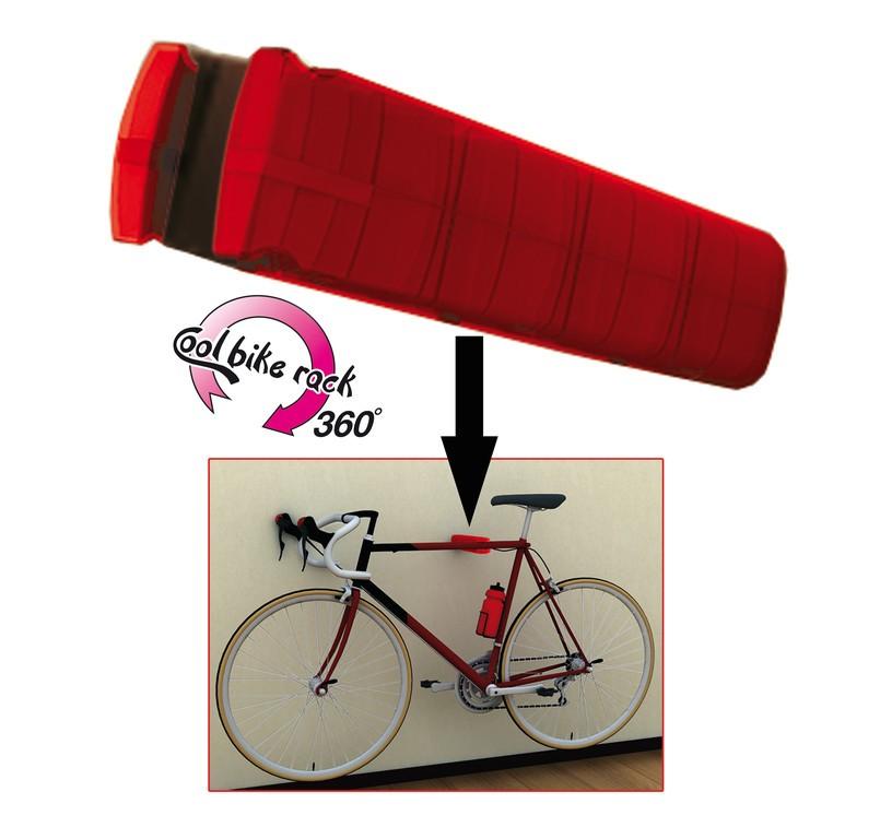 Peruzzo cool bike rack ophæng til cykel rød - 375,00 : Cykelgear.dk - Cykelgear.dk