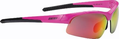 BBB Impress Cykelbriller med 3 sæt linser - Matsort | Briller