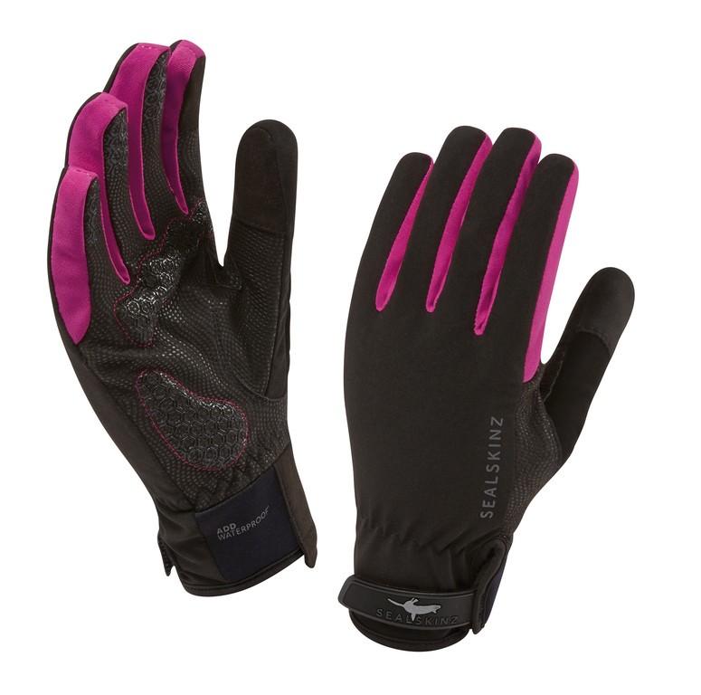 SealSkinz All Weather handsker Sort/Pink | Handsker