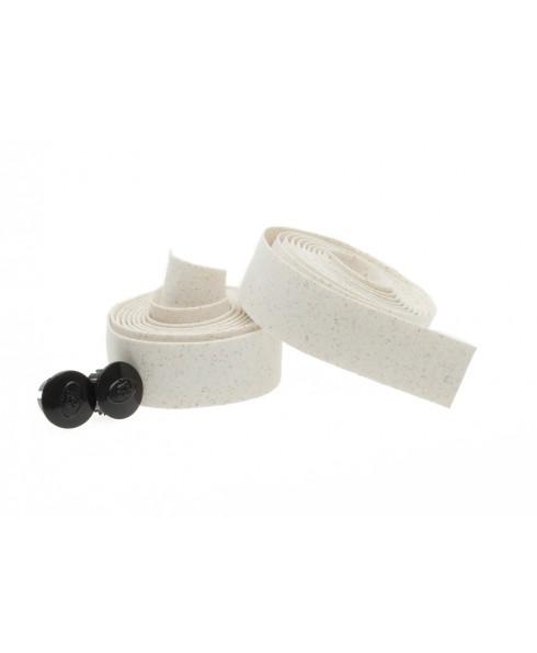 Styrbånd kork i sæt Hvid | Bar tape