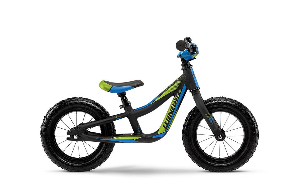 Winora rage løbecykel sort/blå/grøn | Løbecykel