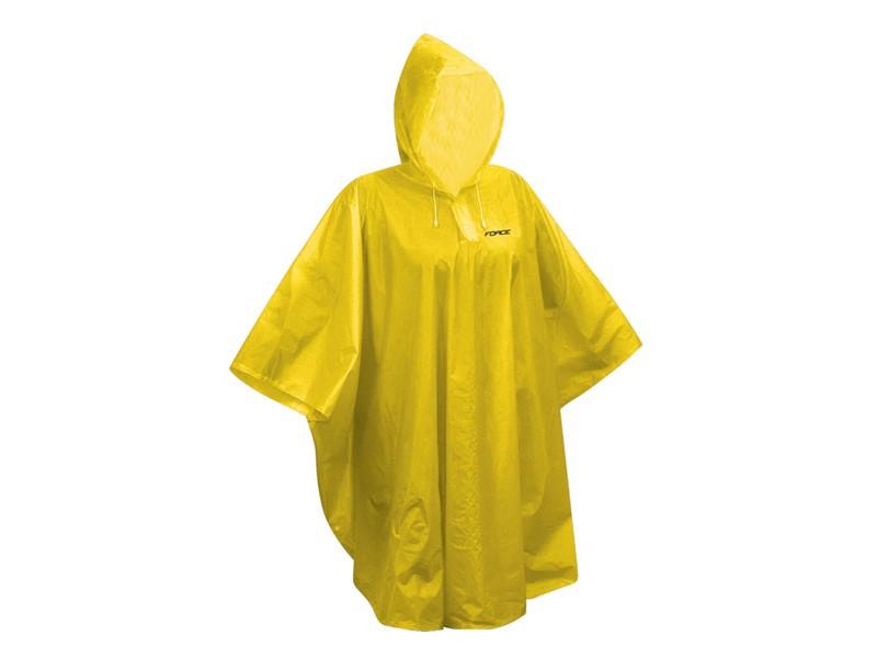 Regn poncho gul 120-160 cm | Jakker