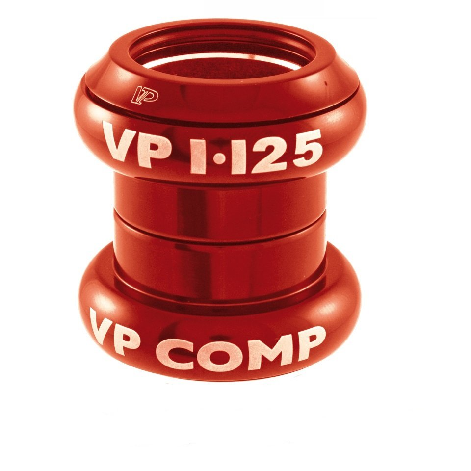 VP Styrfitting 34/34 udvendig og 28,6/30 indvendig rød | Styrfittings