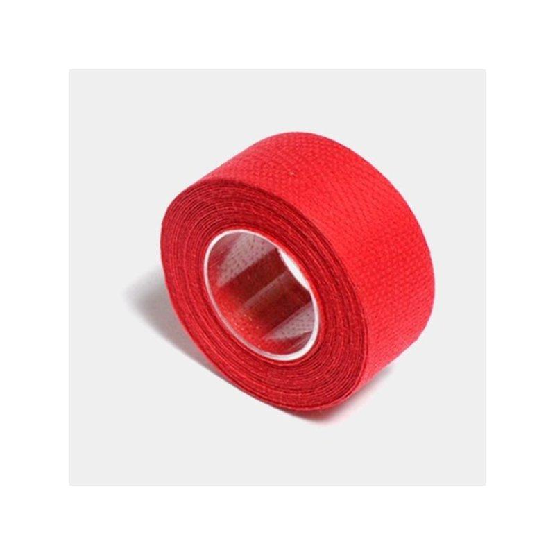 Rødt styrbånd i bomuld   Bar tape