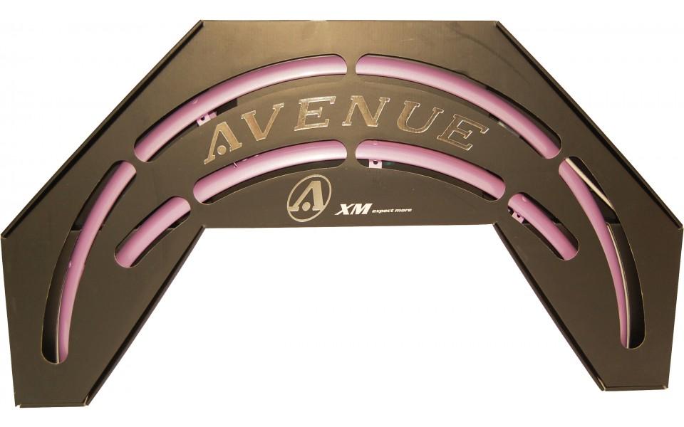 Avenue skærmsæt rosa (RubinRosa) 35 mm | Mudguards Set