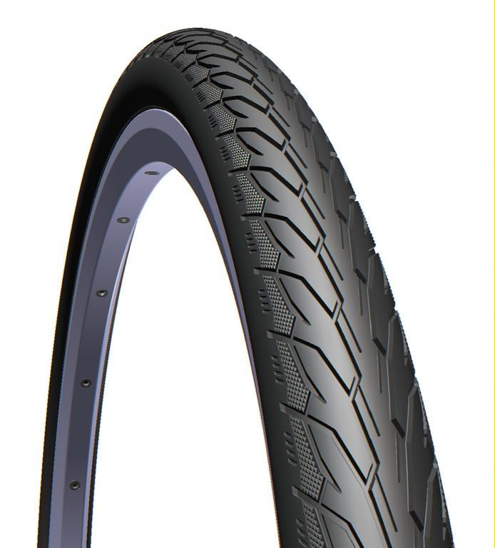 Mitas Flash 700x35C dæk sort | Dæk