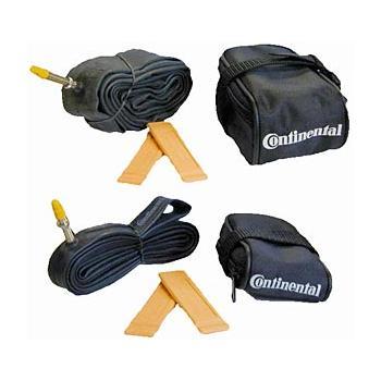 Continental sadeltaske med indhold | Sadeltasker