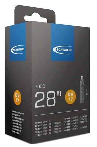 Slange Schwalbe 700 X 28-47 dunlop ventil | Slanger