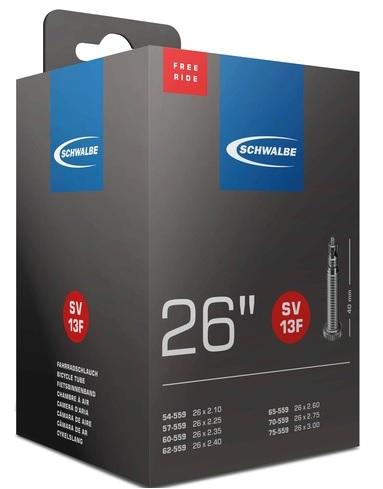 Schwalbe Slange 26x2,10-3,00 FV 40mm Freeride   Slanger