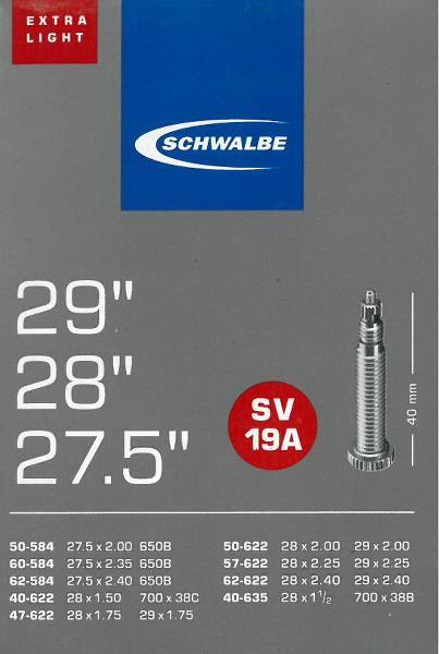 Schwalbe slange 29