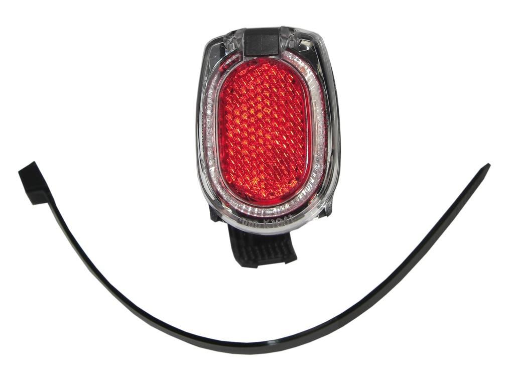 B & M Secula E baglygte til montering på stel/sadelpind   Rear lights